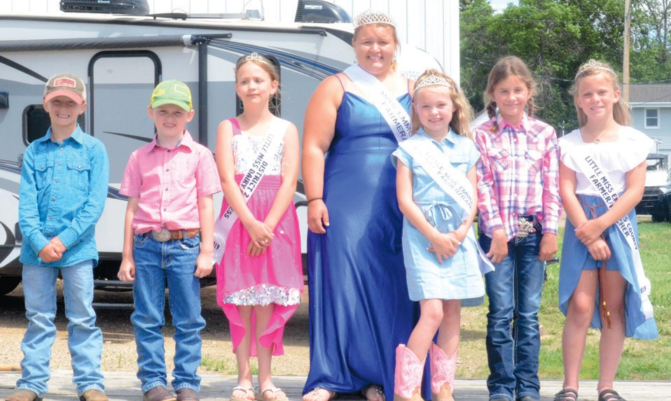 2021 Emmons County Dairy & Ag Day Royalty | Emmons County ...